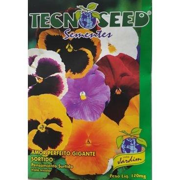 semente flor amor perfeito gigante tecnoseed