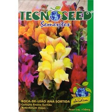 semente flor boca de leao ana sortida tecnoseed