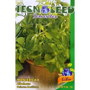 semente manjericao tecnoseed