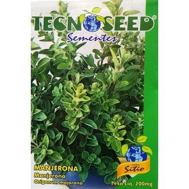 semente manjerona tecnoseed
