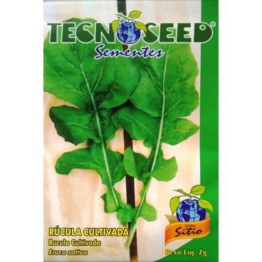 semente rucula cultivada tecnoseed