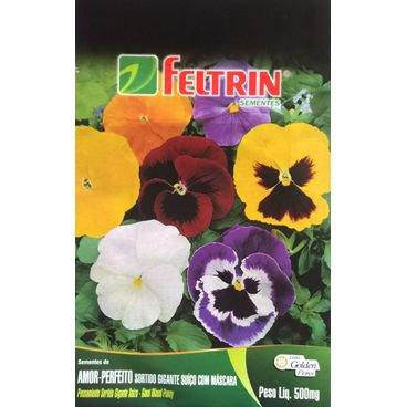 semente flor amor perfeito sortida feltrin