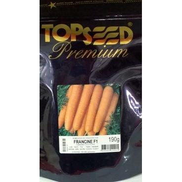 semente cenoura francine hibrida topseed