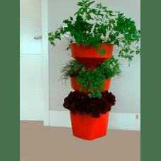 horta compacta vertical verde vida telha sem rodizio