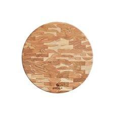 tabua redonda madeira inveretida teca stolf 929