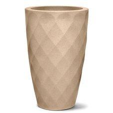 vaso conico safira areia