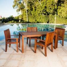 mesa rohden 6 lugares angelim cadeiras