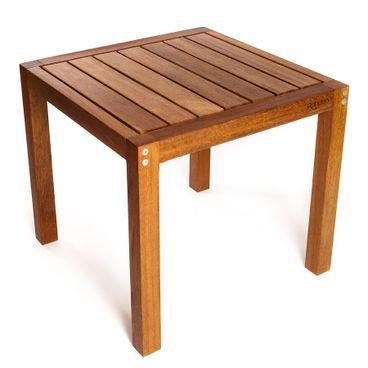 mesa madeira macica rohden quadrada 4 pessoas