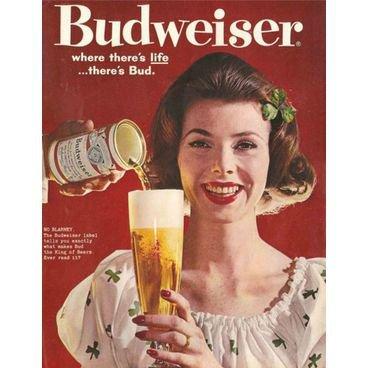 placa pvc cerveja budweiser 01