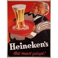 placa pvc cerveja heineken