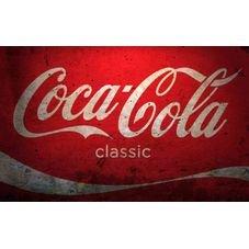 placa pvc cocacola classic