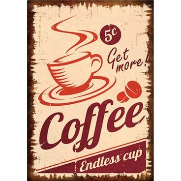 placa pvc coffe