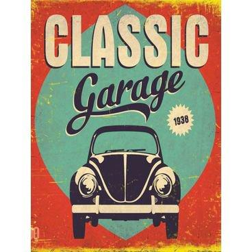 placa pvc garagem