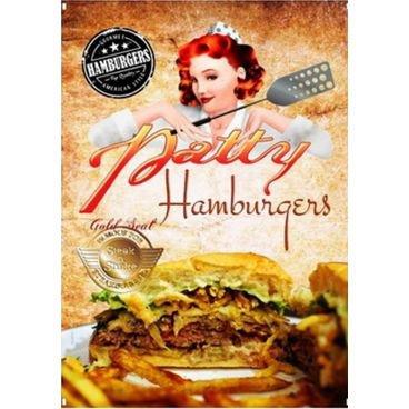placa pvc hamburgues