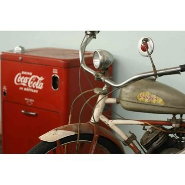 placa pvc moto antiga