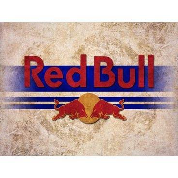 placa pvc red bull