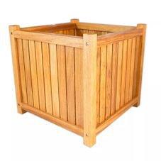 cachepo garden 8 madeira sem rodinhas