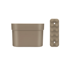 kit organizador coza loft up marrom pequeno