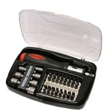 kit chave catraca com 40 pecas a7062 black decker
