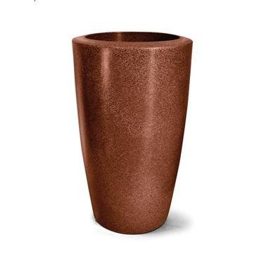 vaso plastico classic ferrugem 66