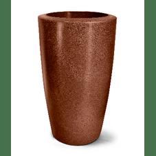 vaso plastico classic ferrugem 91