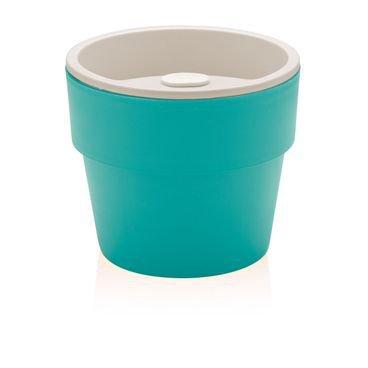 vaso auto irrigavel grande azul ou