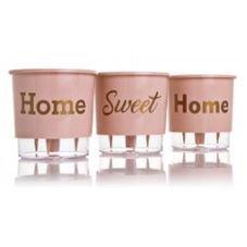 vaso autoirrigavel home sweet home rosa