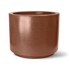 vaso plastico cilindrico ferrugem 32