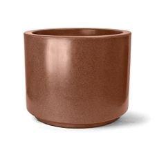 vaso plastico cilindrico ferrugem 40