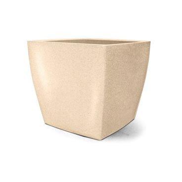 vaso plastico quadrado areia 32