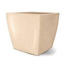 vaso plastico quadrado areia 50