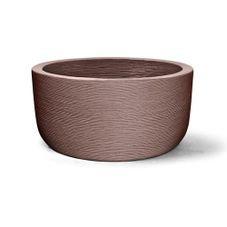 vaso plastico grafiato redondo tabaco 30