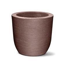 vaso plastico grafiato redondo tabaco 40