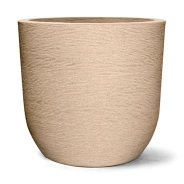 vaso plastico grafiato areia redondo 67