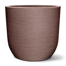 vaso plastico grafiato redondo tabaco 67