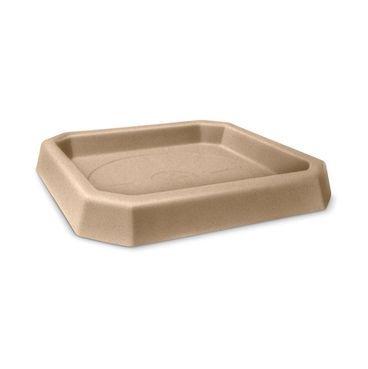 prato quadrado texturizado areia 33