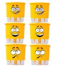 kit 6 vasos autoirrigaveis cabelokos raiz pequeno