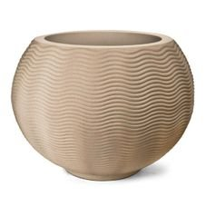 vaso ondulado 32 nutriplan areia