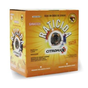 raticida isca grao girassol citromax caixa