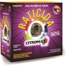 raticida isca grao cerais citromax caixa