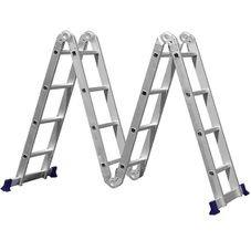 escada multifuncional 4x4 com plataforma 16 degraus