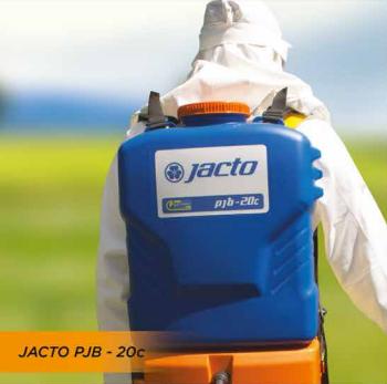 pulverizador costal bateria jacto pjb 20c