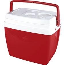caixa termica 26 litros mor vermelha