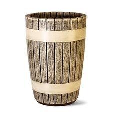vaso decoracao tina 44 nutriplan amadeirado