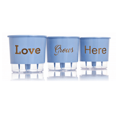 vaso autoirrigavel love grous here azul