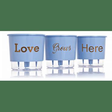vaso autoirrigavel love grous here azul