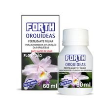 fertilizante liquido concentrado orquidea floracao 60 ml forth