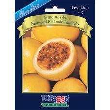 semente maracuja rendondo amarelo topseed