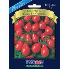 semente tomate pera vermelho topseed