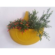 vaso autoirrigavel amarelo verdevida